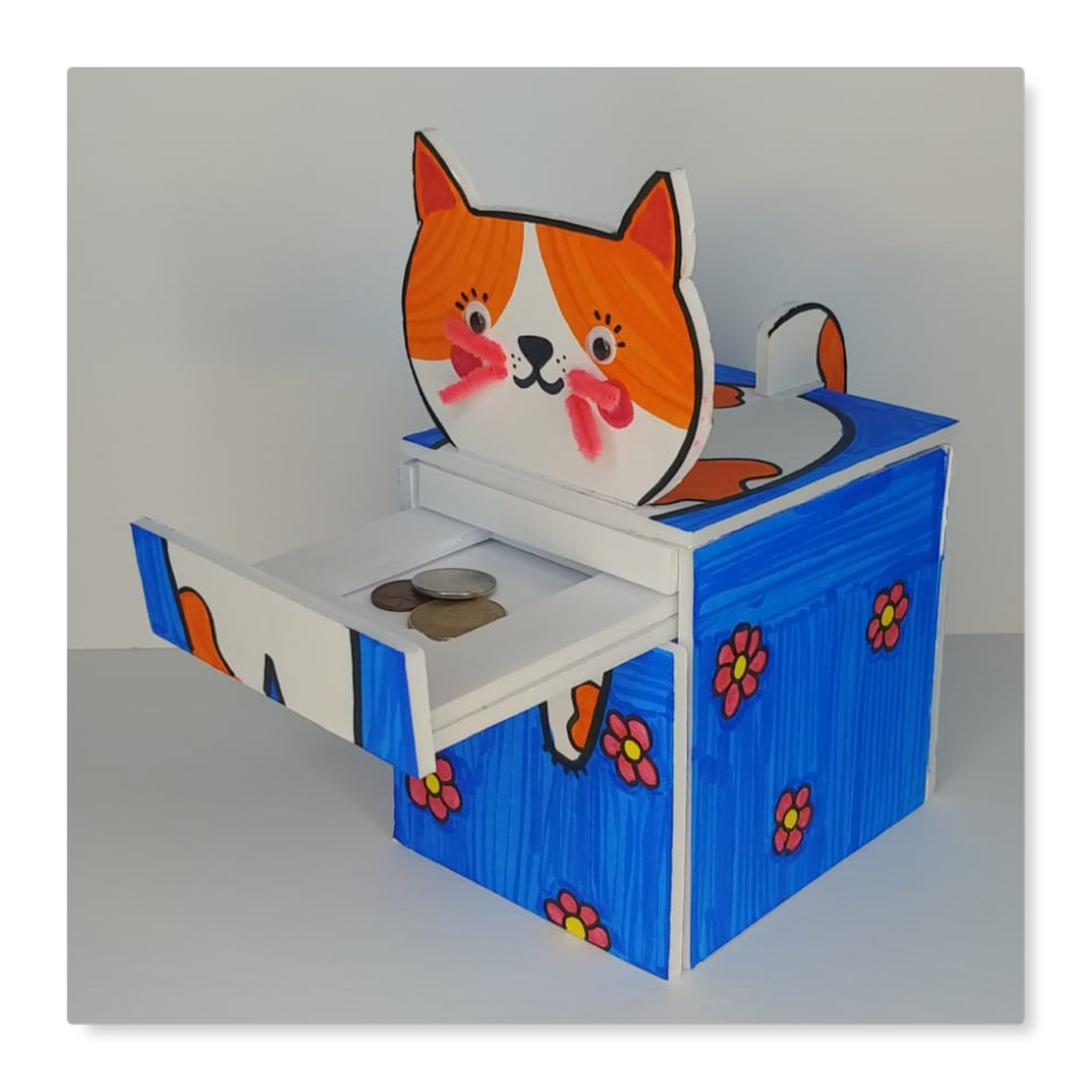 DIY Animal Piggy Bank Craft Kit