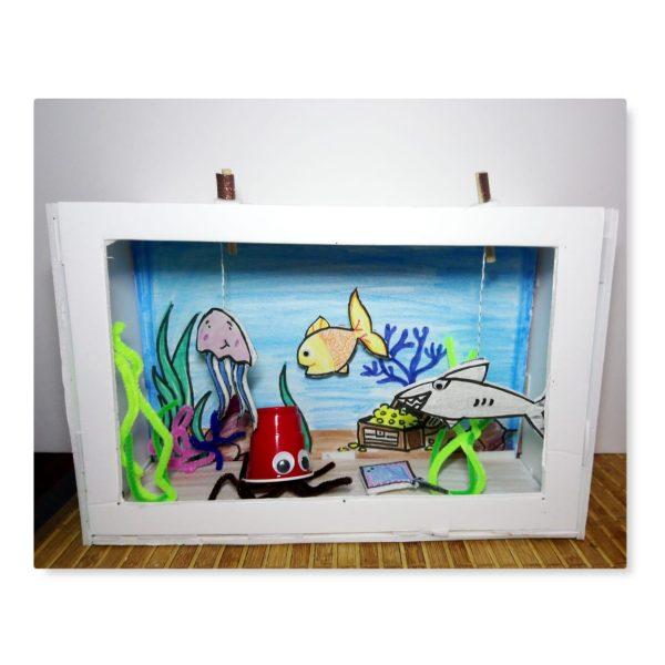DIY Interactive Aquarium Craft Kit