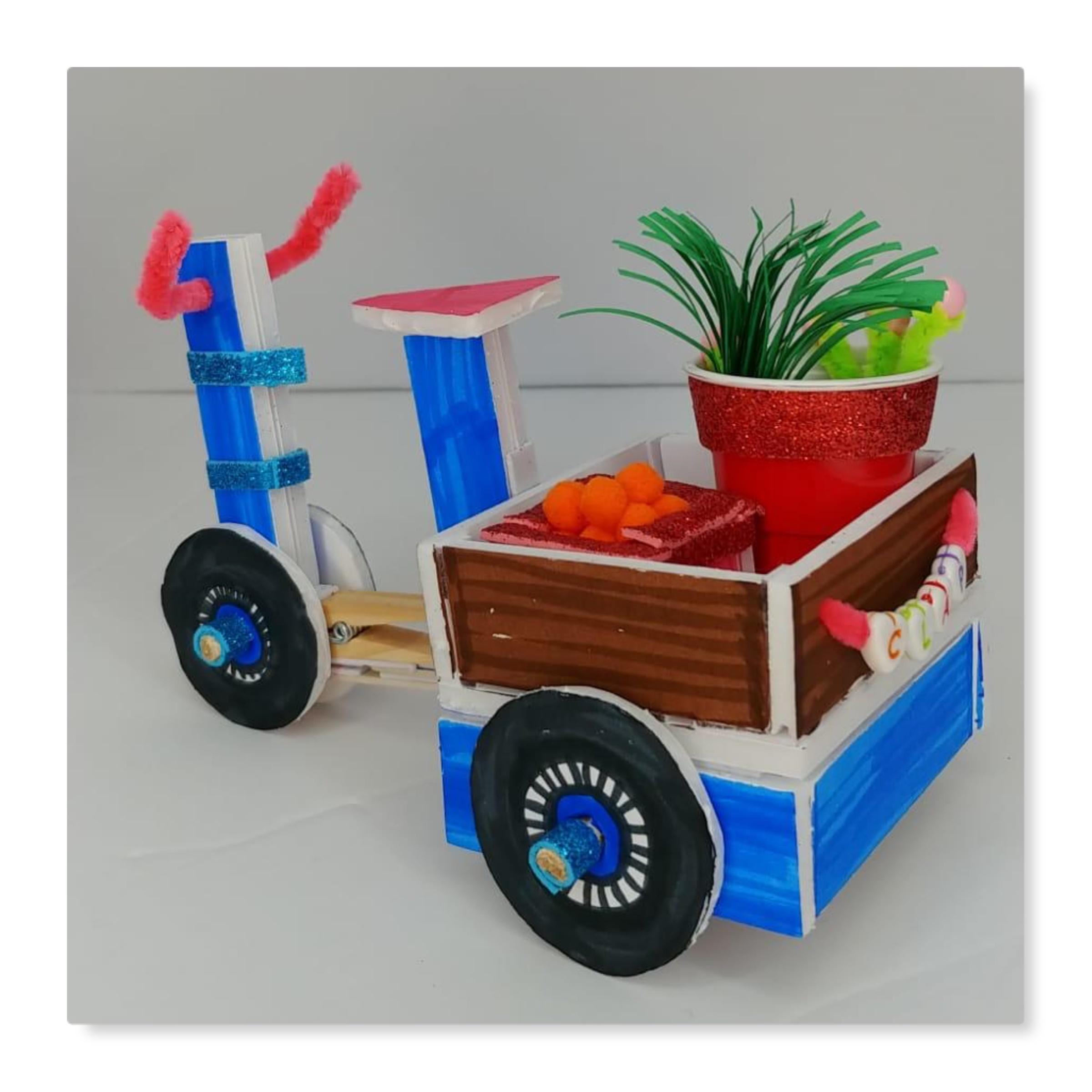 DIY Mini Moving Bicycle Craft Kit