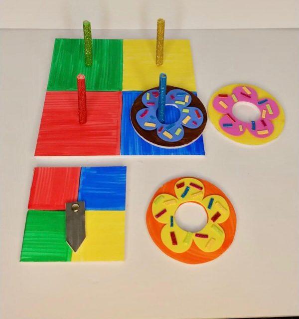 DIY Donut Ring Toss Craft Kit