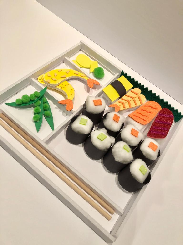 DIY Sushi Bento Box Craft Kit