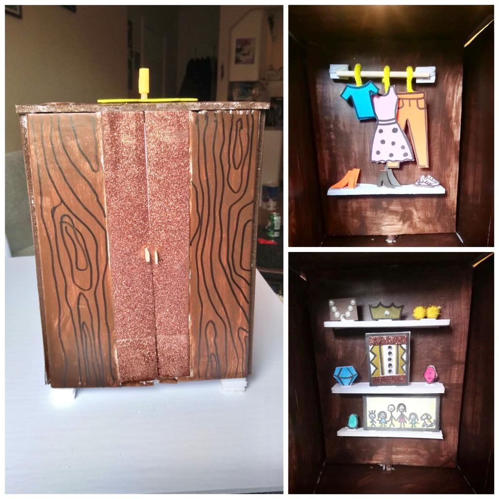 DIY Secret Closet Craft Kit