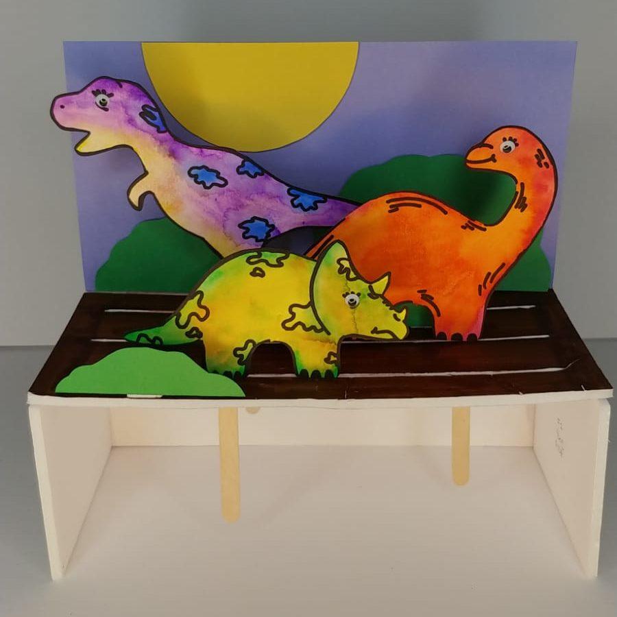 DIY Dinosaur Diorama Craft Kit