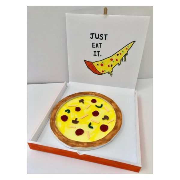 DIY Pizza Delivery Craft Kit