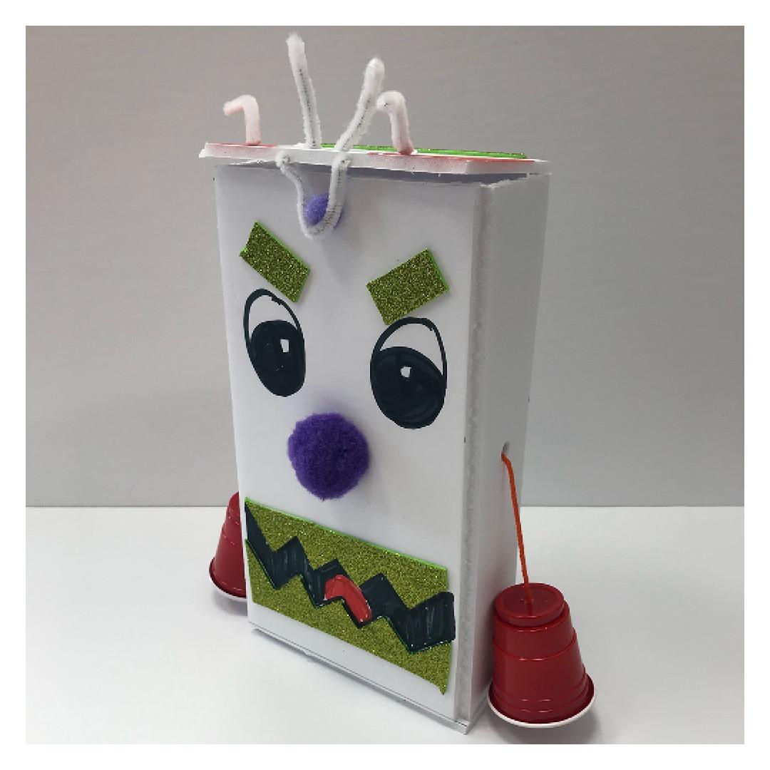 DIY Monster Telephone Piggy Bank