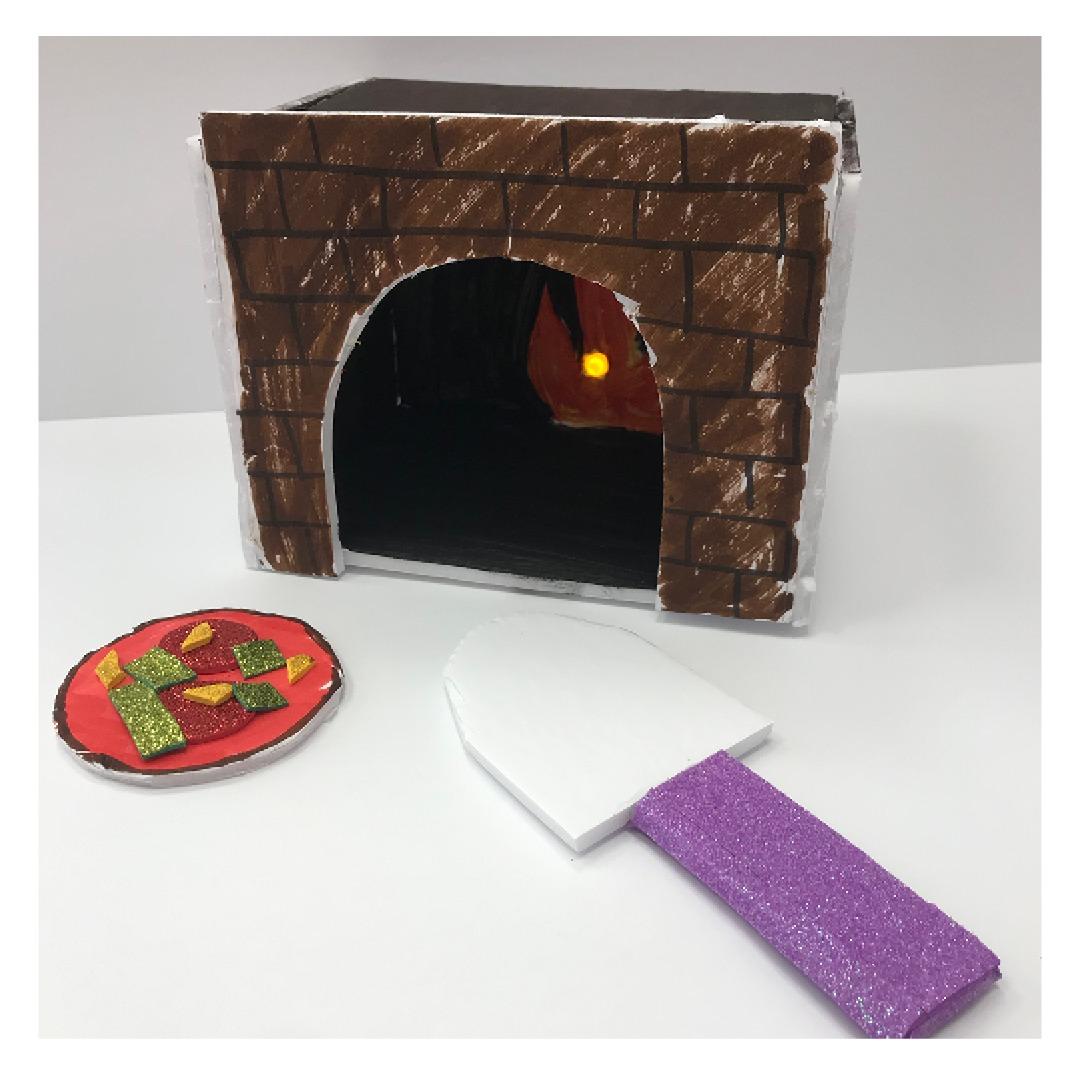 DIY Pizza Oven Craft Kit