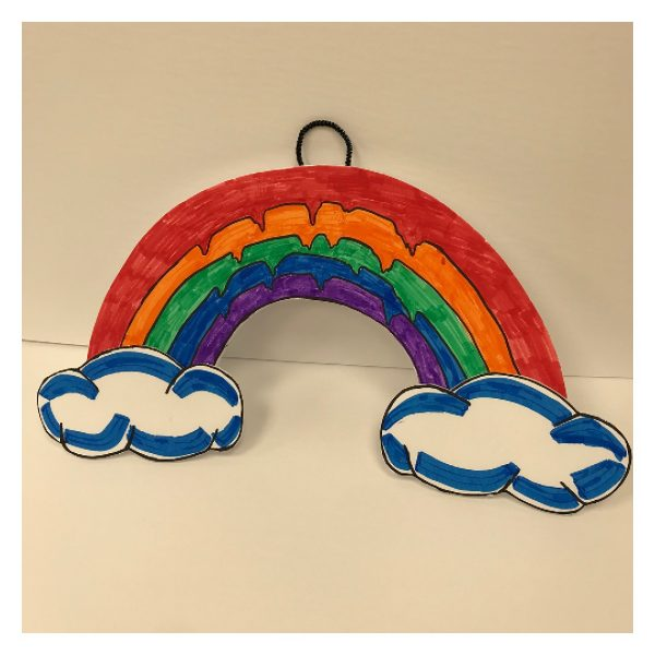 DIY Rainbow with Clouds